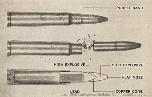 japanese explosive bullet - Some information of ingame 7mm machinegun explosive rounds, what could be fixed, and some other tidbits.